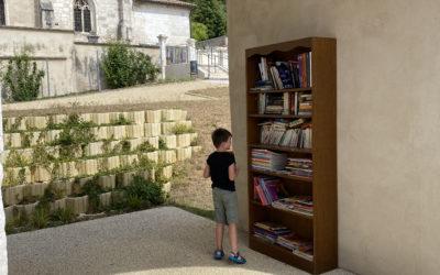 Bibliothèque de rue